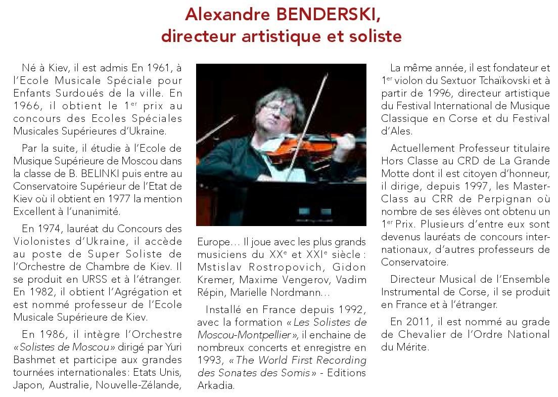 Alexandre benderski