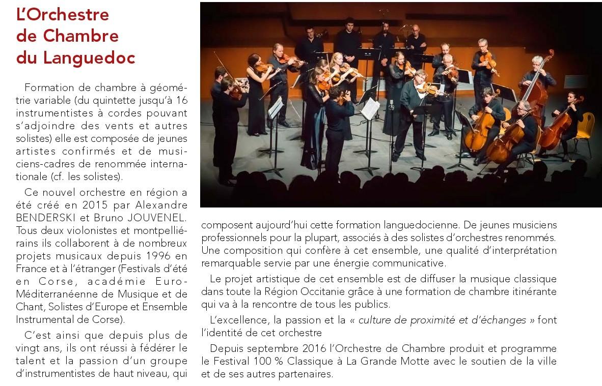 Orchestre de chambre du languedoc